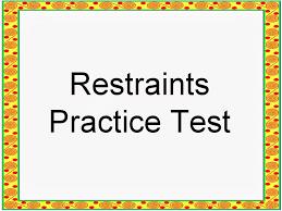 student survive 2 thrive nursing practice test restraints