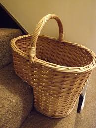 wicker baskets for stairs wicker baskets for steps rattan step