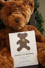 fuzzy teddybear invites neat entertaining u0026 holidays