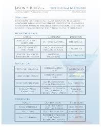 Example Of Bartender Resume 100 Resume Examples For Restaurant Busser 28 Restaurant