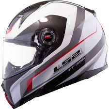 ls2 motocross helmets ls2 ff396 ft2 forza r helmet black white red hein gericke
