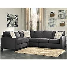 Microfiber Sofa Sectionals Amazon Com Flash Furniture Signature Design By Ashley Jessa Place
