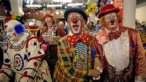 top creepy clowns birthday party anyone horror not clowning around how clowns went from to scary abc news