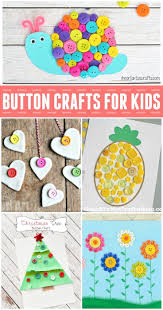 fun button crafts for kids craft and button crafts