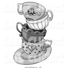 royalty free black and white stock cafe designs page 2