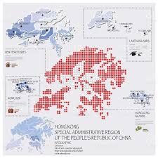 Map Of Hong Kong China by Dot And Flag Map Of Hong Kong Infographic Design Stock Vector Art