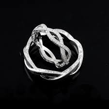 mens infinity wedding band white gold engraved sides twisted shank infinity men s wedding