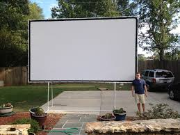 outdoor projector screen diy u2014 jen u0026 joes design best outdoor