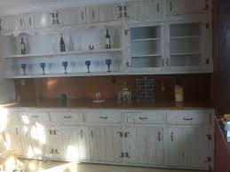 Faux Finish Cabinets Kitchen Array Of Color Inc Distressed Faux Block Wall Arafen