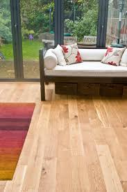 sand and re sealed solid rustic oak