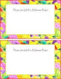 free invitations free summer invitations free