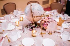 Wedding Reception Table Settings Table Settings Reception Table Setting Candles Globe