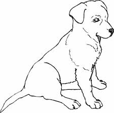 puppy coloring in pages puppy coloring