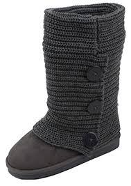 black sweater boots amazon com shoes8teen shoes 18 womens rib knit sweater crochet