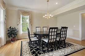 dining room rugs choosing rug for dining table editeestrela design