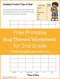 bug worksheets free printables happy housewife