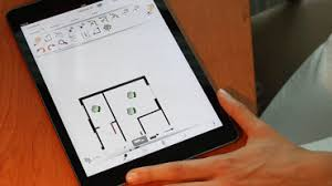 sketch floorplan on ipad orthograph