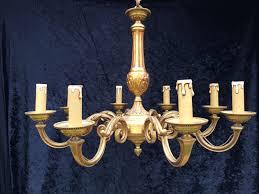 Brass Antique Chandelier Antique Chandelier Specialists Crystal Corner