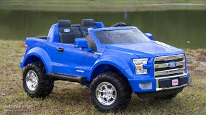 ford electric truck we review the power wheels ford f 150 the best kid trucker gift