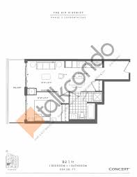Yorkdale Floor Plan The Kip District Phase 2 Condos Talkcondo