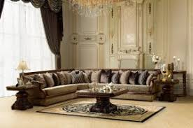 High End Sectional Sofa Luxury Sectional Sofa Traditional Living Room Set Zhd461