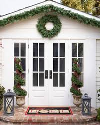 beacon hill outdoor cypress wreath and garland balsam hill beacon hill cypress garland alt