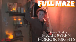 what time does universal studios close during halloween horror nights halloween michael myers comes home hd full maze halloween