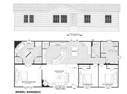 4 5 Bedroom Mobile Home Floor Plans by 3 Bedroom Mobile Home