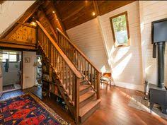 Rent A Tiny House In California Cozy A Frame Cabin In The Redwoods Houses For Rent In Cazadero