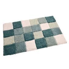 allure vienna multi blocks bath mat u2013 next day delivery allure