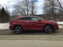 lexus suv for sale in maine on the road review lexus rx450h hybrid crossover mount desert