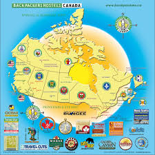 Canada Map by Maps Page