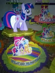 dulceros de my little pony buscar con google fiestas adornos para tortas centros de mesa my little pony 95 00 en