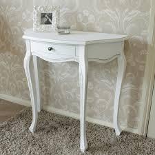 classic white range half moon table ebay