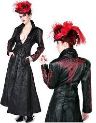 hilary u0027s vanity devious ladies leather trench coat
