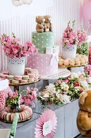 sweet table from a teddybear forever friends birthday via