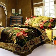 luxury victorian black and yellow patterned duvet covers full in