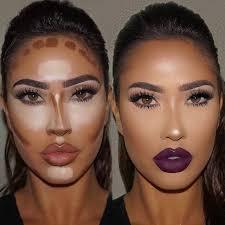 Makeup Contour contouring highlighting o contorno e a ilumina礑磽o do nariz