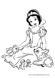 disney snow white coloring pages getcoloringpages