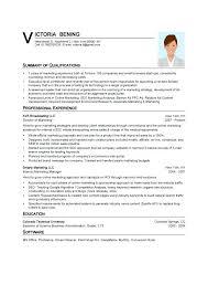 sample digital marketing resume sample resume format word