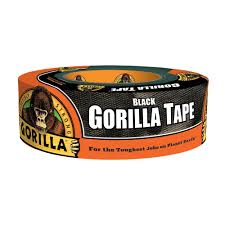 Duck Hold It For Rugs Tape Gorilla 1 7 8 In X 35 Yds Heavy Duty Duct Tape 60035 The Home