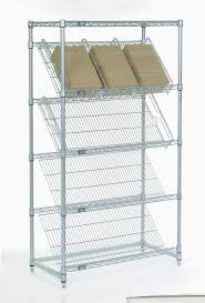 Stackable Wire Shelves by Mobile Tire Stacking Wire Baskets Display Shelf Removable Mesh