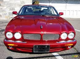 1998 carnival red pearl jaguar xj xjr 11579014 gtcarlot com