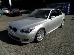 bmw 5 series for sale used used bmw 5 series 2009 model 520d m sport diesel saloon silver for