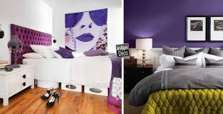 chambre à coucher violet du violet dans la chambre à coucher 50 exemples inspirants