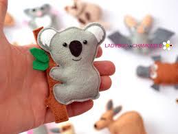 australian animals for kids felttoys baby sewing pinterest