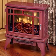 Infrared Electric Fireplaces by Duraflame 8511 Cranberry Infrared Electric Fireplace Stove With