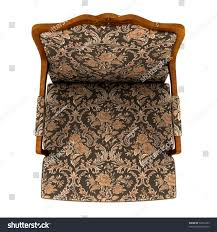 classic armchair isolated on white background stock illustration