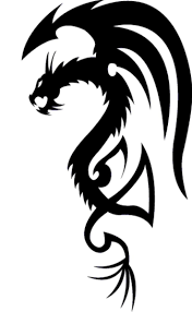 18 best simple black dragon tattoo designs images on pinterest