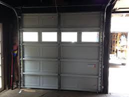 Overhead Door Panels Stunning Aluminum Garage Door Panel Replacement Cost Home Depot